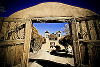 Santuario de Chimayo - Chimayo Winter - New Mexico