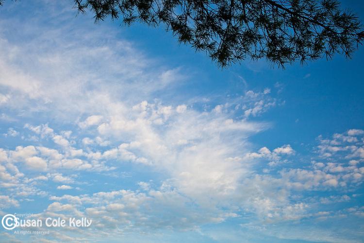 Clouds on Taunton Bay, Sullivan, ME, USA