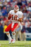 13 November 2005: Kansas City Chiefs quarterback Trent Green sets to pass against the Buffalo Bills at Ralph Wilson Stadium in Orchard Park, NY. The Bills defeated the Chiefs 14-3. ..Mandatory Photo Credit: Ed Wolfstein