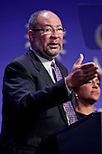 Richard Parsons, Chairman of Citigroup Inc., and co-chair of the Smithsonian&rsquo;s National Museum of African American History and Culture's advisory council, speaks at the groundbreaking in Washington, D.C. on Wednesday, February 22, 2012. The museum is scheduled to open in 2015 and will be the only national museum devoted exclusively to the documentation of African American life, art, history and culture. .Credit: Andrew Harrer / Pool via CNP