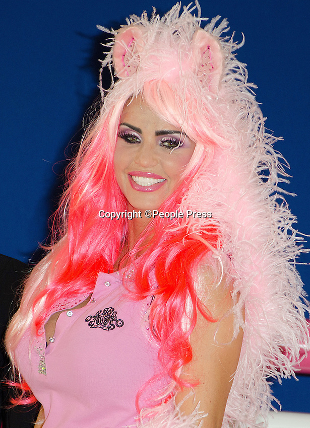London - Katie Price dresses as a pony at the  'My Little Katie' Photocall to celebrate 5 years of KP Equestrian, Worx Studio, Fulham,London -  March 26th 2013<br />