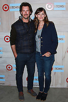 CULVER CITY, LOS ANGELES, CA, USA - NOVEMBER 12: Blake Mycoskie, Jennifer Garner arrive at the TOMS For Target Launch Event held at the Book Bindery on November 12, 2014 in Culver City, Los Angeles, California, United States. (Photo by David Acosta/Celebrity Monitor)