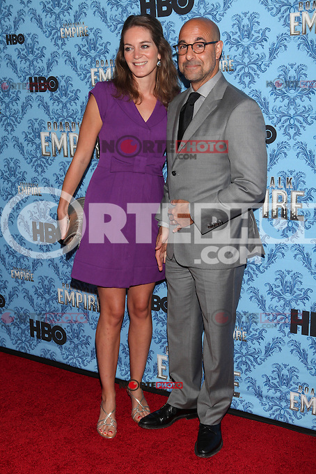 NEW YORK, NY - SEPTEMBER 05: Felicity Blunt and Stanley Tucci  attend HBO's 'Boardwalk Empire' Season Three New York Premiere at Ziegfeld Theater on September 5, 2012 in New York City. &copy; Diego Corredor/MediaPunch Inc. /NortePhoto.com<br /> <br /> **CREDITO*OBLIGATORIO** <br /> *No*Venta*A*Terceros*<br /> *No*Sale*So*third*<br /> *** No*Se*Permite*Hacer*Archivo**<br /> *No*Sale*So*third*