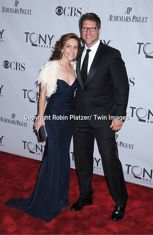Andrea McArdle and Christopher Sieber attending the 65th Annual Tony Awards at the Beacon Theatre in New York City on June 12, 2011.