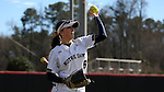 17 February 2017: Notre Dame's Bailey Bigler. The Notre Dame Fighting Irish played the University of Minnesota Golden Gophers at Dail Softball Stadium in Raleigh, North Carolina as part of the ACC/Big 10 College Softball Challenge. Minnesota won the game 4-1
