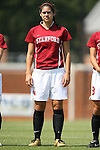 06 September 2009: Stanford's Alina Garciamendez. The Stanford University Cardinal defeated the Virginia Tech University Hokies 5-0 at UNCG Soccer Stadium in Greensboro, North Carolina in an NCAA Division I Women's college soccer game.