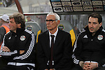 Egypt Argentinian manager Hector Cuper reacts during their African Cup of Nations group G qualification football match between Egypt and Nigeria at the Borg el-Arab Stadium in Alexandria on March 29, 2016. Photo by Stringer