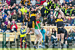 Ambrose O'Donovan Dr Crokes in Action against Liam Treacy Loughmore-Castleiney in the Munster Senior Club Semi-Final at Crokes Ground, Lewis Road on Sunday