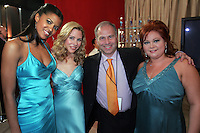 28 April 2006: Singers Kathy Brier, Renee Goldsberry, Kerry Butler of One Life To Live Exclusive behind the scenes photos of celebrity television stars in the STAR greenroom at the 33rd Annual Daytime Emmy Awards at the Kodak Theatre at Hollywood and Highland, CA. Contact photographer for usage availability.