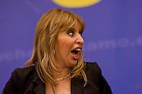 Roma, 29 Marzo 2015<br /> Convention di Forza Italia: Roma l'Italia e l'Europa che vogliamo. Alessandra Mussolini, eurodeputato di Forza Italia .<br /> Rome, March 29, 2015<br /> Convention  of Forza Italy: Rome the Italy and Europe that we want. Alessandra Mussolini, MEP Forza Italy.