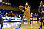 08 November 2015: Saint Leo's Chelsey Springs. The Duke University Blue Devils hosted the Saint Leo University Lions at Cameron Indoor Stadium in Durham, North Carolina in a 2015-16 NCAA Women's Basketball Exhibition game. Duke won the game 116-33.