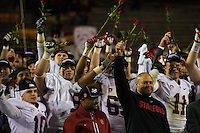Tempe, AZ - Saturday, December 7: The Stanford Cardinal 38-14 over Arizona State to win the 2013 PAC-12 Football Championships.