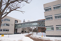 Campus of Michigan Technological University in Houghton Michigan.