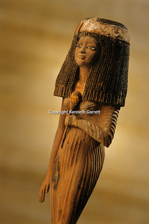 Funerary figure of Resi;figurine; Reign of Amenhotep IIITutankhamun and the Golden Age of the Pharaohs, Page 99