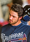 14 March 2016: Atlanta Braves infielder Dansby Swanson, ranked the Number One Top Prospect in the Braves organization for 2016 by both MLB and Baseball America, removes his batting helmet during a Spring Training pre-season game against the Tampa Bay Rays at Champion Stadium in the ESPN Wide World of Sports Complex in Kissimmee, Florida. The Braves shut out the Rays 5-0 in Grapefruit League play. Mandatory Credit: Ed Wolfstein Photo *** RAW (NEF) Image File Available ***