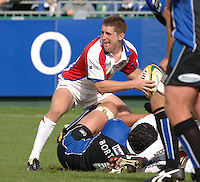 20,05/06 Powergen Cup Bath Rugby vs Bristol Rugby, Greg Nicholls, ENGLAND, 01.10.2005   © Peter Spurrier/Intersport Images - email images@intersport-images..