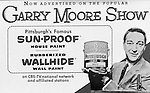 Pittsburgh PA - PPG Advertisement for the Gary Moore Television Show - 1957