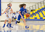 LAHS Girls Varsity basketball at Santa Clara HS, January 11, 2013.  LAHS wins 41-34.....30 Rebecca Andrews