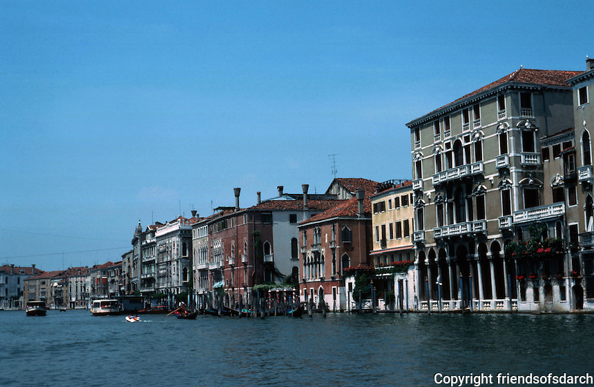 Venice:  #4.  The Grand Canal.  Photo '83.