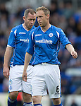 St Johnstone v Alashkert FC...09.07.15   UEFA Europa League Qualifier 2nd Leg<br /> Steven Anderson<br /> Picture by Graeme Hart.<br /> Copyright Perthshire Picture Agency<br /> Tel: 01738 623350  Mobile: 07990 594431