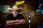 Jim Mclennan, Proprietor Hashknife on the Chisolm BBQ Peadenville, Texas.