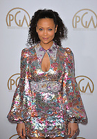 Thandie Newton at the 2017 Producers Guild Awards at The Beverly Hilton Hotel, Beverly Hills, USA 28th January  2017<br /> Picture: Paul Smith/Featureflash/SilverHub 0208 004 5359 sales@silverhubmedia.com