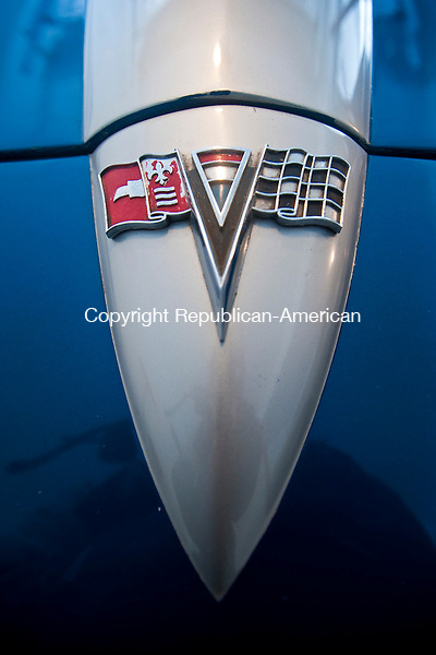 SOUTHBURY, CT-021514JS03- Todd Baggett of Southbury, recently found and purchased the 1964 Chevrolet Corvette his late father once owned. Baggett has been searching for the car for the past 20 years and recently found it in Richmond, VA. <br /> Jim Shannon Republican-American