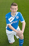 St Johnstone Academy Under 14&rsquo;s&hellip;2016-17<br />Logan Thoms<br />Picture by Graeme Hart.<br />Copyright Perthshire Picture Agency<br />Tel: 01738 623350  Mobile: 07990 594431