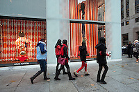 The Louis Vuitton store in Midtown Manhattan in New York is seen on Sunday, January 22, 2012.(© Richard B. Levine)