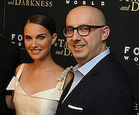 "NEW YORK, NY - August 15 :Natalie Portman and Peter Kujawski attend the New York screening for "" A )Tale of Love and Darkness"" on august 15, 2016 at the Crosby Hotel in New York City.  Photo Credit:John Palmer/ MediaPunch"