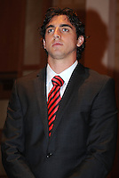 D.C. United defender Dejan Jakovic,at the United Kickoff luncheon, at the Marriott hotel in Washington DC, March 5, 2012.