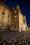 Old Town Geneva at night, Geneva, Switzerland