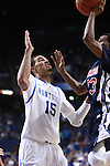 UK forward Willie Cauley-Stein defends the ball during the second half of the men's basketball game vs. Samford at Rupp Arena in Lexington, Ky., on Tuesday, December 4, 2012. Photo by Emily Wuetcher | Staff..