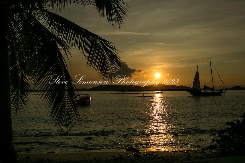 Frank Bay Sunset<br /> St. John<br /> US Virgin Islands