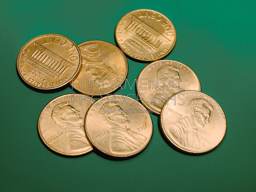 SEVEN PENNIES- AN EXACT NUMBER<br />