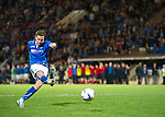 St Johnstone v FC Minsk...08.08.13 Europa League Qualifier<br /> Steven MacLean misses his penalty<br /> Picture by Graeme Hart.<br /> Copyright Perthshire Picture Agency<br /> Tel: 01738 623350  Mobile: 07990 594431