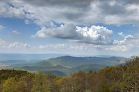 The Shenandoah National Forest and national park located in Madison County, VA. Photo/Andrew Shurtleff