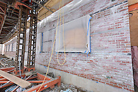Major Renovation Litchfield Hall WCSU Danbury CT<br /> Connecticut State Project No: CF-RD-275<br /> Architect: OakPark Architects LLC  Contractor: Nosal Builders<br /> James R Anderson Photography New Haven CT photog.com<br /> Date of Photograph: 27 January 2017<br /> Camera View: 05 - North Elevation