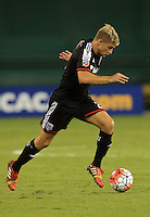 Washington, DC - August 25, 2015:  D.C. United defeated Montego Bay United FC 3-0 during the group stage of the CONCACAF Champions League at RFK Stadium.