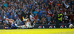 Cha-Du-Ri takes out Lee Wallace and earns a straight red card