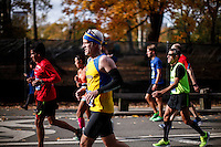 Runners attend the annual TCS New York City Marathon in Central Park New York 01.11.2015. Mary Keitany wins second consecutive NYC Marathon, Stanley Biwott is men's winner. Ken Betancur/VIEWpress.