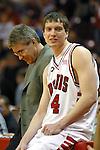 Coach Tom Richardson and Brett Gillan