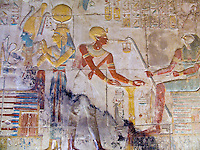 Abydos Temple of Seti I, Luxor, Egypt