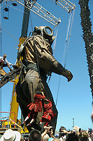 As part of the 2015 Perth International Arts Festival, French street theatre company Royal de Luxe presented The Giants.
