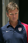 30 July 2006: Greg Ryan. The United States Women's National Team defeated Canada 2-0 at SAS Stadium in Cary, North Carolina, in an International Friendly match.