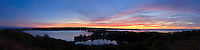 New York, Montauk, Napeague Bay &amp; Fort Pond, South Fork, Sunset