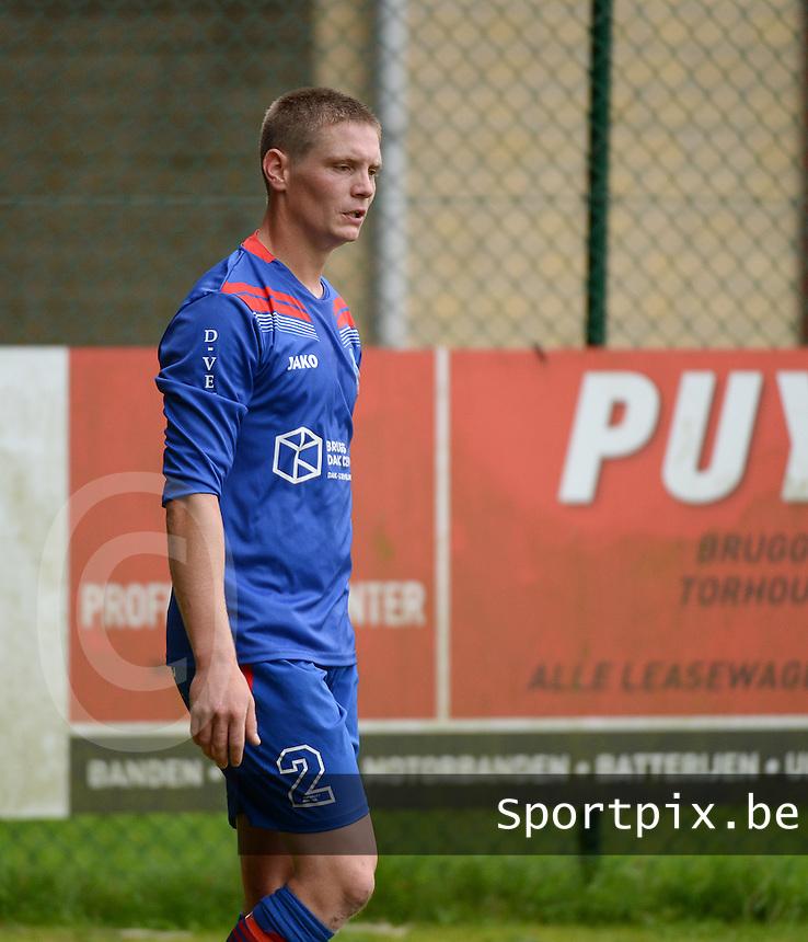 VVC Beernem :  Tim Feys<br /> Foto VDB / Bart Vandenbroucke