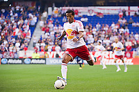 Roy Miller (7) of the New York Red Bulls. The New York Red Bulls and CD Chivas USA played to a 1-1 tie during a Major League Soccer (MLS) match at Red Bull Arena in Harrison, NJ, on May 23, 2012.