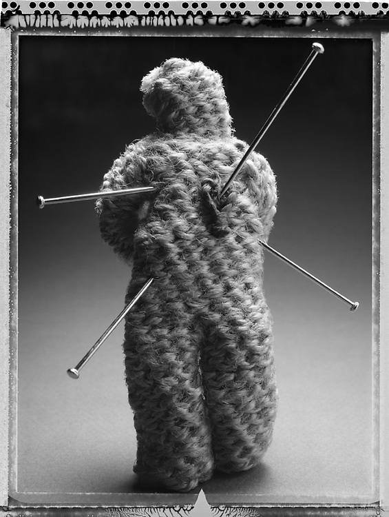 Untitled Effigy Number Eleven, 2005 (Pins).