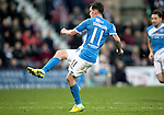 Hearts v St Johnstone&hellip;05.11.16  Tynecastle   SPFL<br />Danny Swanson scores for saints<br />Picture by Graeme Hart.<br />Copyright Perthshire Picture Agency<br />Tel: 01738 623350  Mobile: 07990 594431